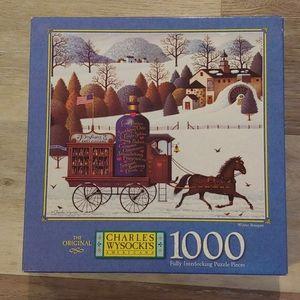 New Charles Wysocki's Americana 1000 Piece Puzzle